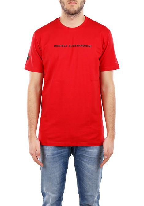 COTTON T-SHIRT DANIELE ALESSANDRINI | T-shirt | M904938009