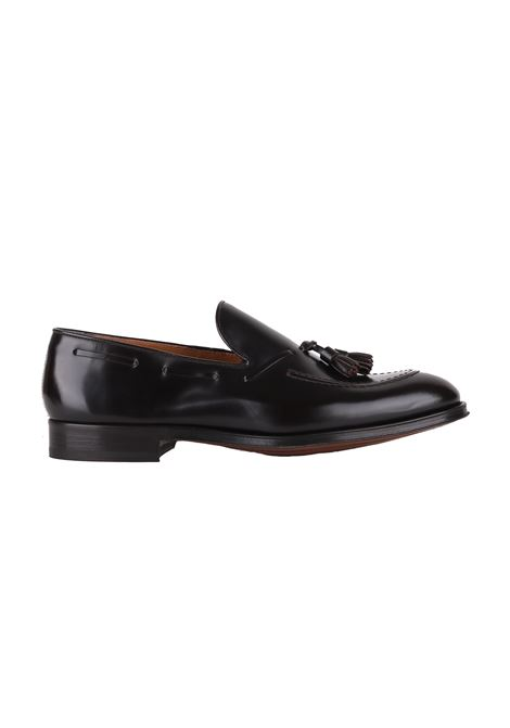 LEATHER MOCCASIN DUCA DI WELLS | Loafers | DU1240GLASUZ007MORO