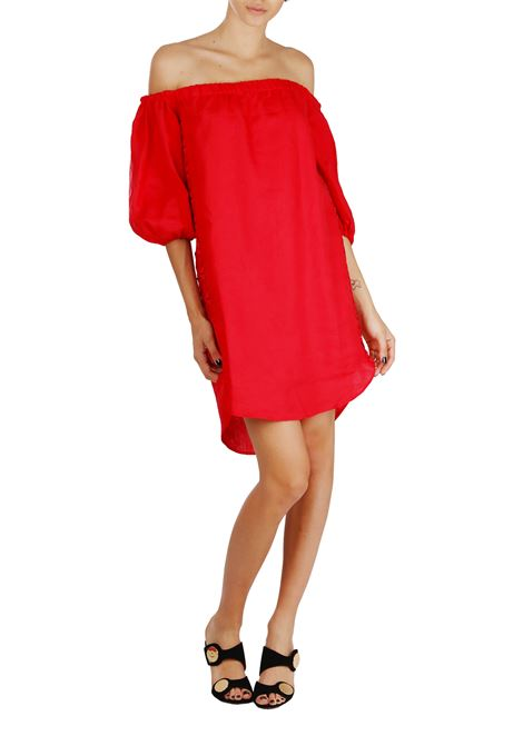 LINEN DRESS ERMANNO SCERVINO | Dress | D324Q342853C400