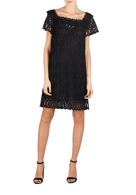 COTTON LACE DRESS ERMANNO SCERVINO | Dress | D324Q359853C500