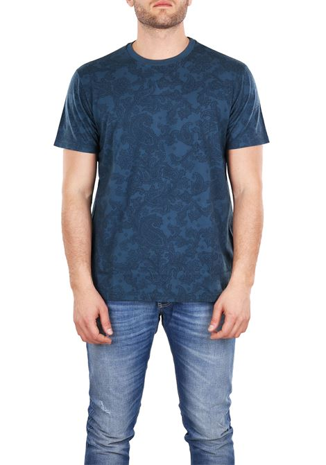 T-SHIRT IN COTTON ETRO | T-shirt | 1Y0209168201