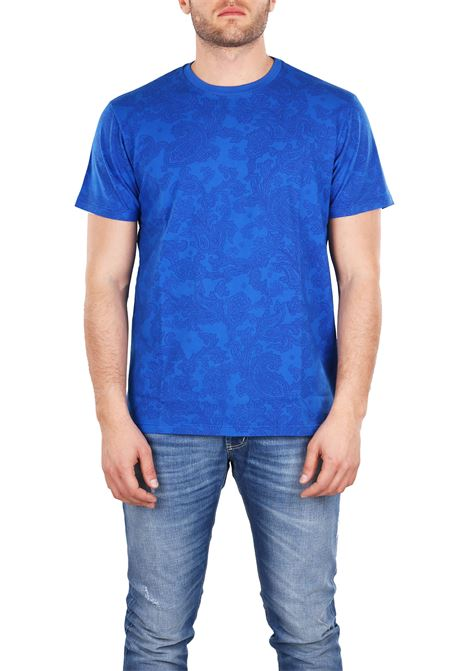 T-SHIRT IN COTTON ETRO | T-shirt | 1Y0209168202
