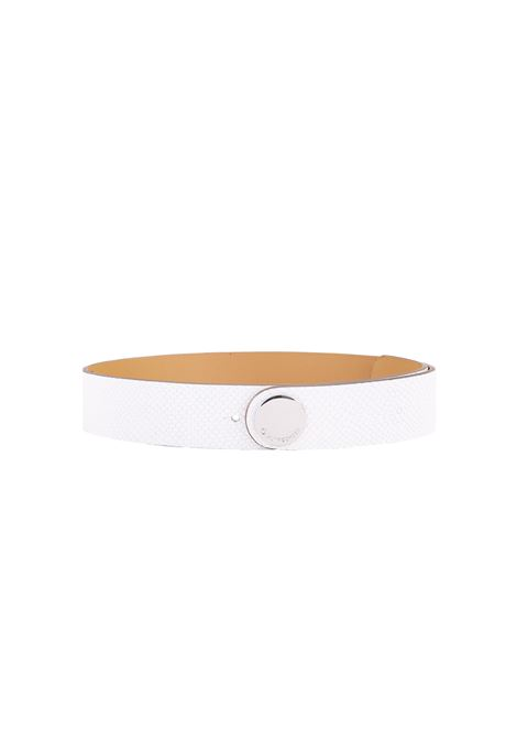 LEATHER BELT L'AUTRE-CHOSE | Belt | LCG0013525463003BIANCO