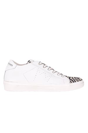 LEATHER SNEAKERS LEATHER CROWN | Sneakers | W13650
