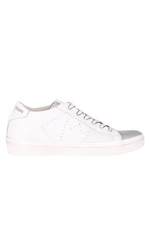 LEATHER SNEAKERS LEATHER CROWN | Sneakers | W13660