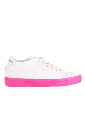 LEATHER SNEAKERS LEATHER CROWN | Sneakers | W13668