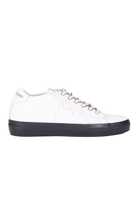 LEATHER SNEAKERS LEATHER CROWN | Sneakers | W13669