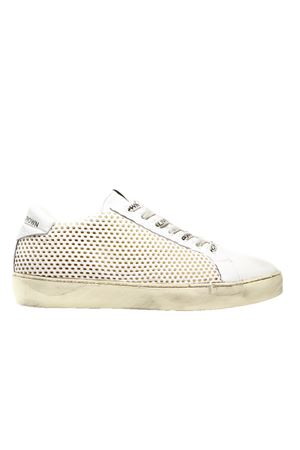 LEATHER SNEAKERS LEATHER CROWN | Sneakers | WICONIC2