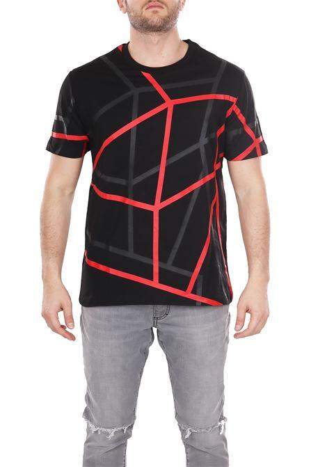 PRINTED T-SHIRT LES HOMMES | T-shirt | URE800PUE8069005