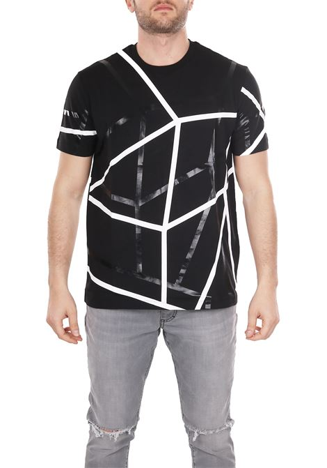 T-SHIRT WITH ALL-OVER PRINT LES HOMMES | T-shirt | URE800PUE806A9001