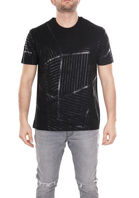PRINTED T-SHIRT LES HOMMES | T-shirt | URE800PUE808A9000