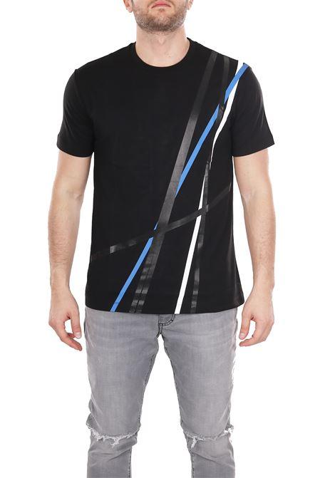 PRINTED T-SHIRT LES HOMMES | T-shirt | URE800PUE809A9017