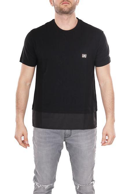COTTON T-SHIRT LES HOMMES | T-shirt | URE801UE800A9000
