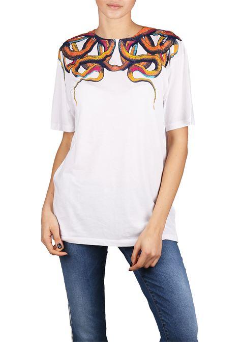 T-SHIRT IN COTONE MARCELO BURLON | T-shirt | CWAA016R180470020188