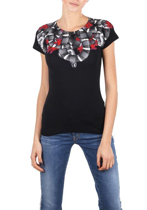 T-SHIRT IN COTONE MARCELO BURLON | T-shirt | CWAA027R180470641088