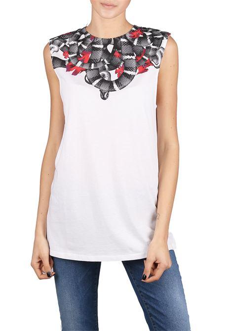 T-SHIRT IN COTONE MARCELO BURLON | T-shirt | CWAC013R180470640188