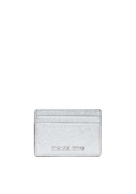 MONEY PIECES CARD HOLDER IN SAFFIANO LEATHER MICHAEL DI MICHAEL KORS | Portacarte | 32S5MTVD1MMONEYPIECES040