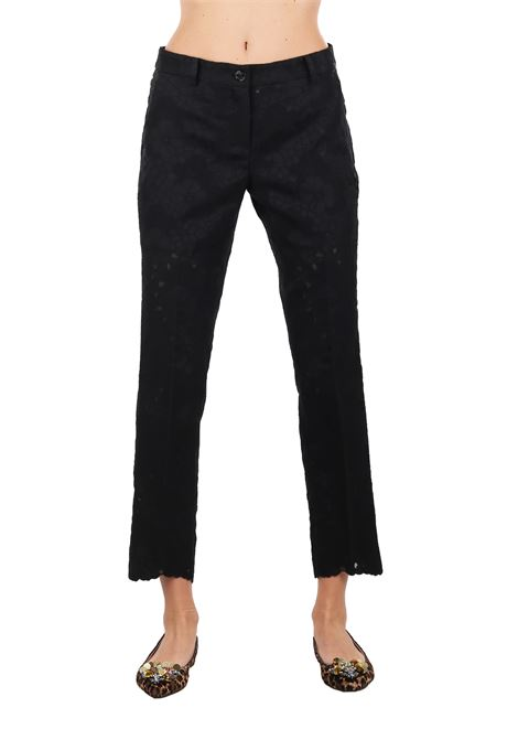 EMBROIDERED TROUSERS MICHAEL DI MICHAEL KORS | Pants | MS83GZT8NM001