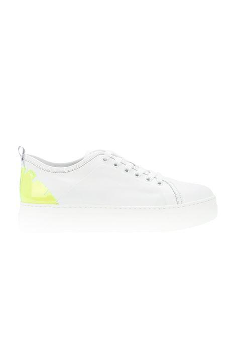 SNEAKERS IN PELLE E PLEXI MSGM | Sneakers | 2441MDS02070