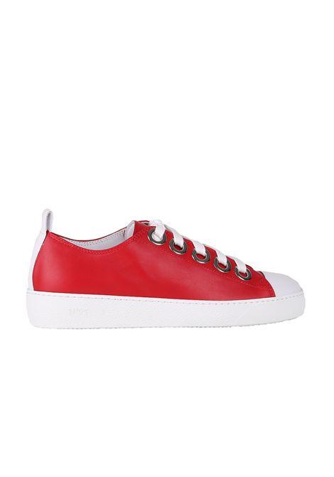 SNEAKERS IN PELLE N°21 | Sneakers | N338DROSSO