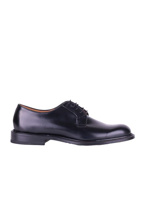LEATHER SHOES ORTIGNI | Shoes | 953201NERO
