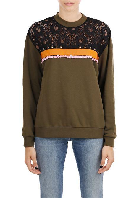 LACE SWEATSHIRT PINKO | Sweatshirts | TERRIE1B12YV6340X18