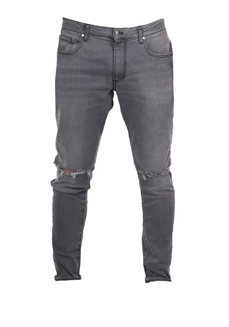 GRAY DENIM JEANS REPRESENT | Jeans | DESTROYER DENIMGRIGIO