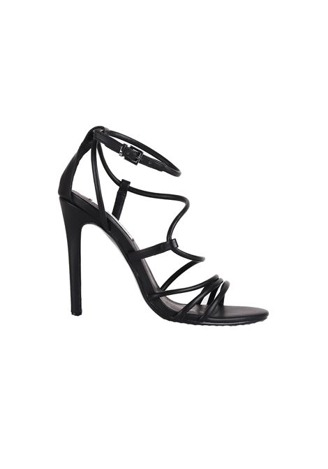 SANDAL IN LEATHER STEVE MADDEN | Sandals | SMSSMITHBLACK