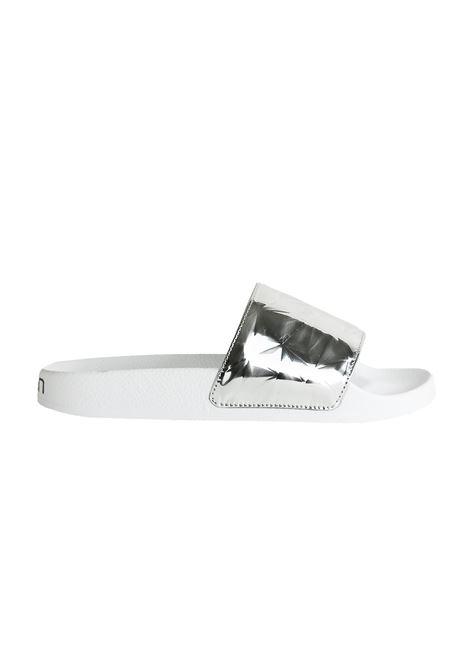 RUBBER SLIPPERS TOWN | Slide Sandals | LOMBOK181TWPDMDIAMANTEARGENTO