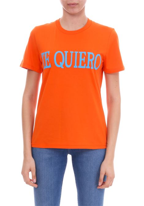 TE QUIERO COTTON JERSEY T-SHIRT ALBERTA FERRETTI | T-shirt | 07060172J0125