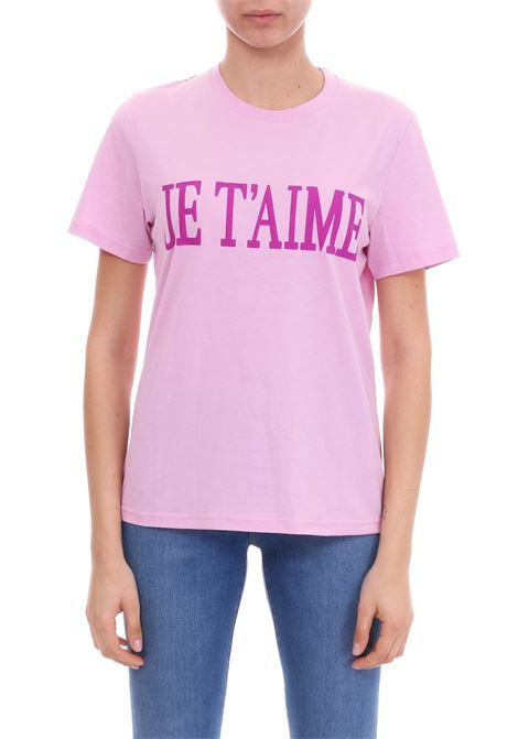 T-SHIRT JE T'AIME IN JERSEY DI COTONE ALBERTA FERRETTI | T-shirt | 07060172J0222