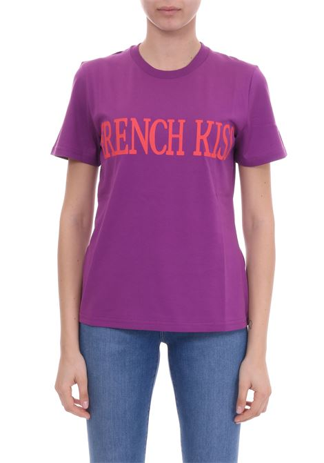 FRENCH KISS COTTON JERSEY T-SHIRT ALBERTA FERRETTI | T-shirt | 07060172J0236