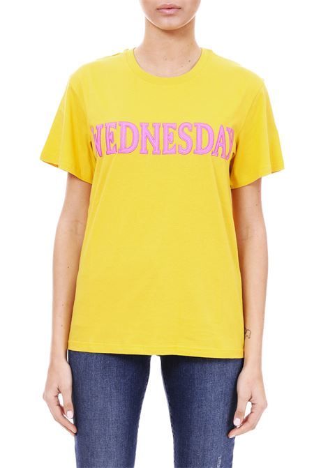 ''WEDNESDAY'' T-SHIRT IN COTTON JERSEY ALBERTA FERRETTI | T-shirt | 07081672J0029