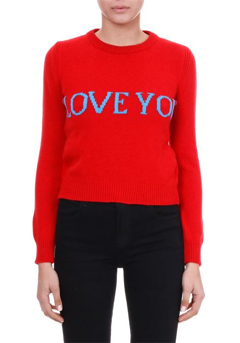 WOOL AND CASHMERE SWEATER 'I LOVE YOU' ALBERTA FERRETTI | Jersey | 09400106J1111