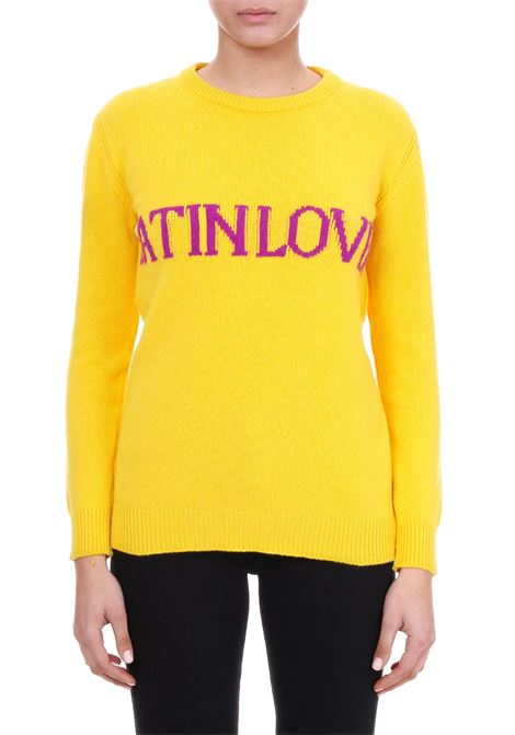 WOOL AND CASHMERE SWEATER 'LATIN LOVER' ALBERTA FERRETTI | Jersey | 09410106J1029