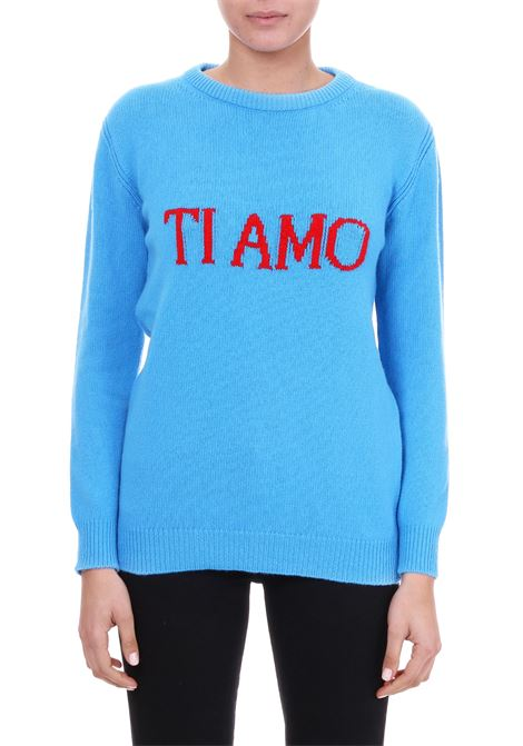 WOOL AND CASHMERE SWEATER 'TI AMO' ALBERTA FERRETTI | Jersey | 09410106J1317