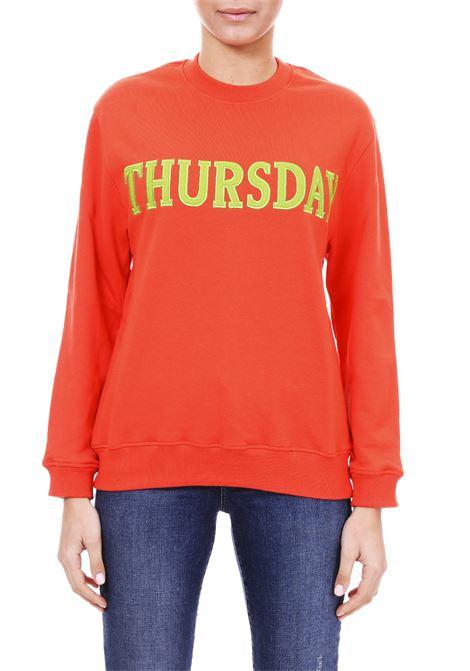 FELPA '' THURSDAY '' IN COTTON ALBERTA FERRETTI | Sweatshirts | 17011676127