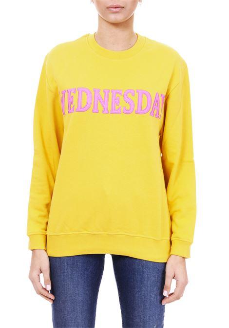FELPA ''WEDNESDAY'' IN COTTON ALBERTA FERRETTI | Sweatshirts | 17011676J0029