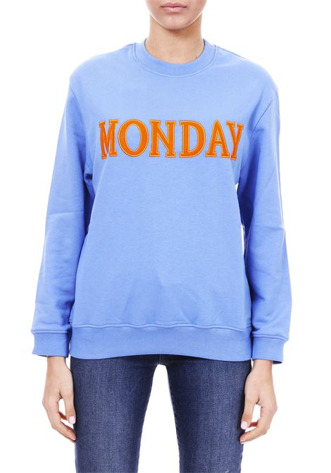 FELPA '' MONDAY '' IN COTTON ALBERTA FERRETTI | Sweatshirt | 17011676J0297