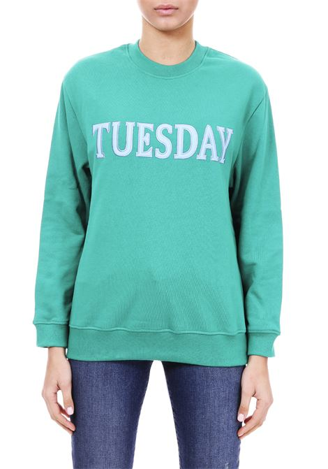 FELPA '' TUESDAY '' IN COTTON ALBERTA FERRETTI | Sweatshirt | 17011676J0370