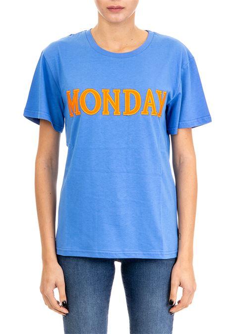 T-SHIRT ''MONDAY'' IN JERSEY DI COTONE ALBERTA FERRETTI | T-shirt | 07081672297