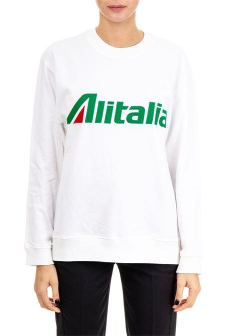FELPA ''ALITALIA'' IN COTONE ALBERTA FERRETTI | Felpe | 170116732