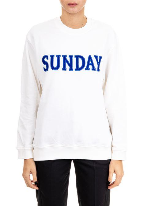 FELPA ''SUNDAY'' IN COTONE ALBERTA FERRETTI | Felpe | 170116762