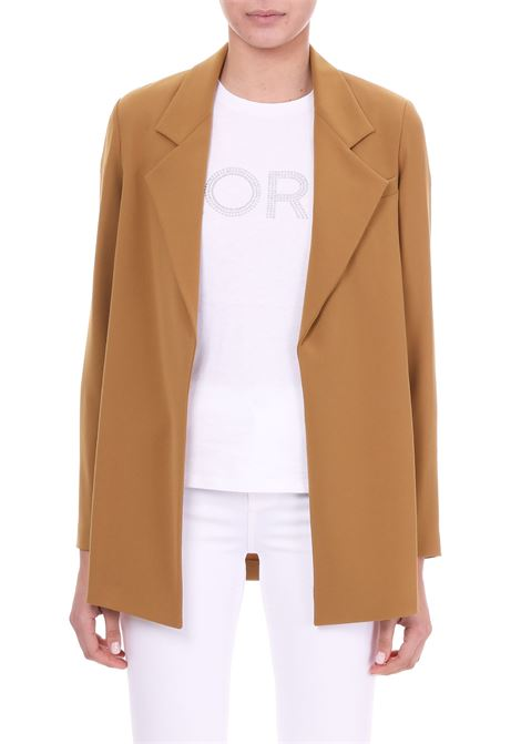 BLAZER WITH REVERS ALYSI | Jackets | 109804P9047OLIO