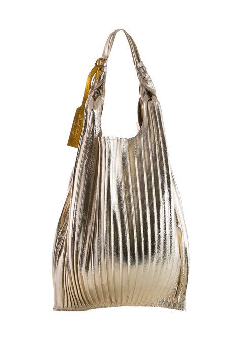 PICASSO LEATHER PURSE BAG ANITA BILARDI | Bags | PICASSO PLISSE' LAMINA COMETAORO
