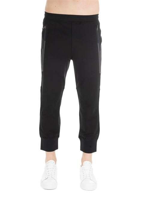 BLACK SPORTY TROUSERS BLACKBARRETT | Pants | XJP832/1854NERO