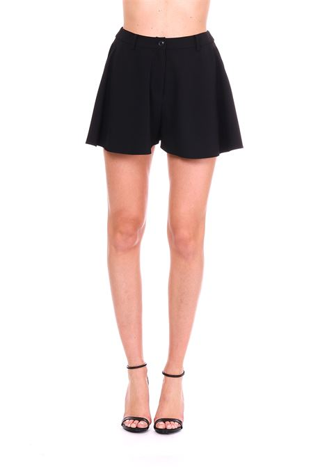 BLACK CADY SHORTS BOUTIQUE MOSCHINO |  | 03161134A0555
