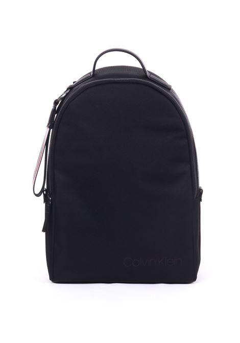 BLACK ROUND BACKPACK CALVIN KLEIN | Backpack | K50K504283001NERO