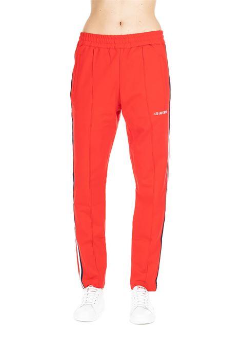 LOGOMANIA RED TRACK PANTS CHIARA FERRAGNI | Pants | CFP026ROSSO