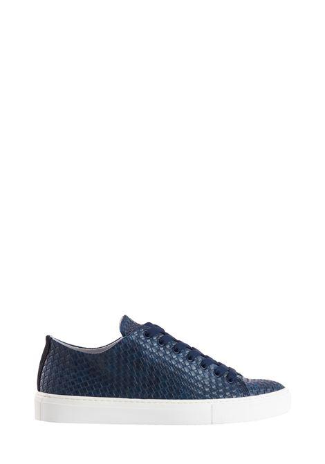 SCARPE SCANESTRATE BLU DANIELE ALESSANDRINI | Sneakers | F884K390123